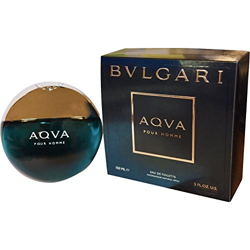 - Bvlgari Aqva Eau de Toilette Spray for Men, 5 Ounce
