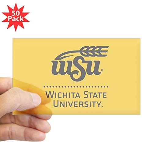CafePress - WSU Wichita State Univer - Sticker (Rectangle 50 pk) by CafePress