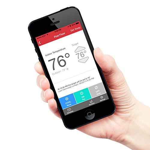 Radio Thermostat CT50 7-Day Programmable Thermostat (WiFi Enabled), iOS & Android App Controls by Radio Thermostat Company of America (Image #1)