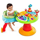 Bright Starts Comfort & Harmony 3-in-1 Around We Go! Activity Station, Zippity Zoo
