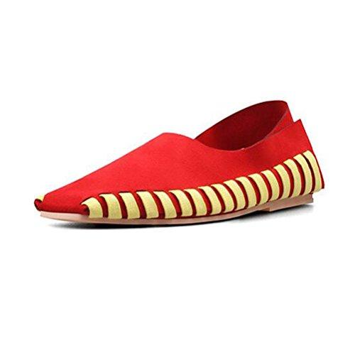 Femmes Chaussures Croix Taille MATTERED Automne Plates Grande Peas BOTXV Casual Chaussures Lace Couleur Chaussures Manuel Up 36 Straps qCw6xgdx