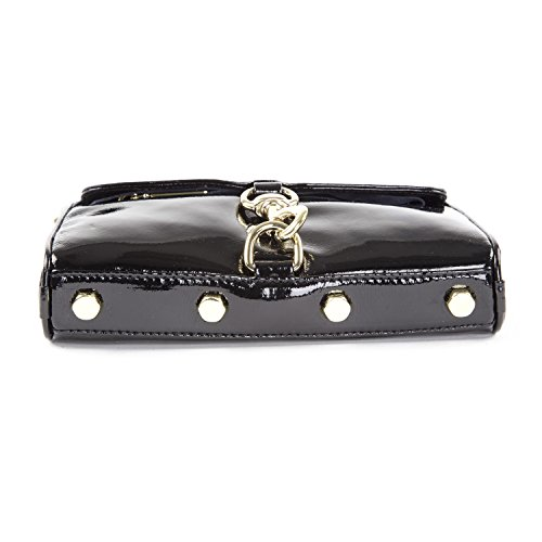 Clutch Black Bag Rebecca Minkoff MAC Cross Patent Mini body 0HwqtwfS