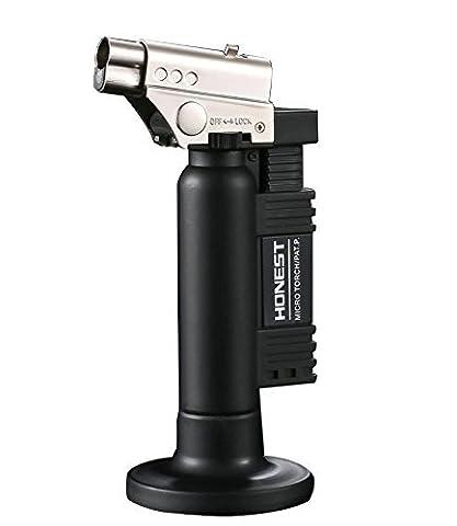 JOYOOO Micro Butane Gas Torch Lighter Kitchen Blow Torch Jet Welding Micro Torch Gun Windproof Lighter for Cooking & Baking