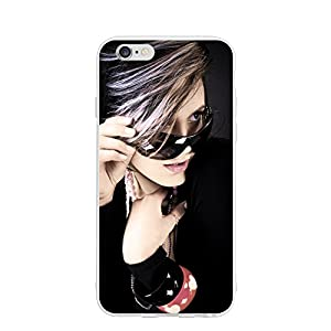 Emily Sunglasses Girl Personalized Customized Phone Case Cover For Phone 6/6s Unique DIY Custom Picture Photo Ultra Thin Soft Rubber Silicone Gel