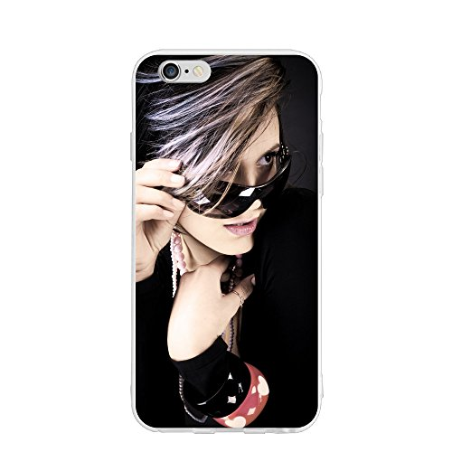 Emily Sunglasses Girl Personalized Customized Phone Case Cover For Phone 6/6s Unique DIY Custom Picture Photo Ultra Thin Soft Rubber Silicone - Quiz Sunglasses