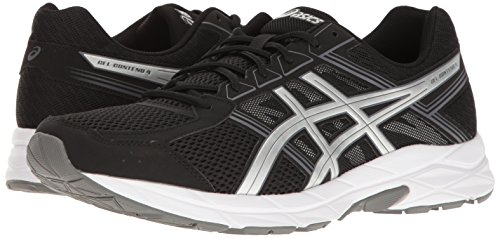 ASICS Men's Gel-Contend 4 Running Shoe, Black/Silver/Carbon, 7 M US by ASICS (Image #6)