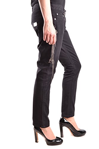 Elisabetta Franchi Jeans Donna MCBI113170O Cotone Nero