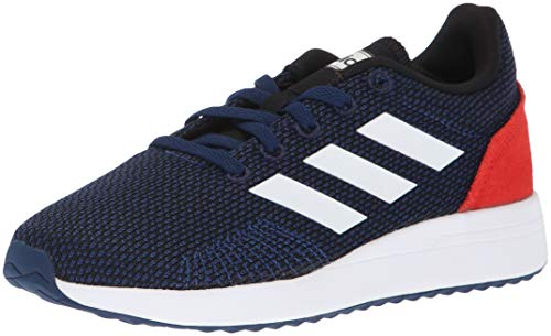 Price comparison product image adidas Unisex Run70S Running Shoe, Dark Blue/White/hi-res red, 6.5 M US Big Kid