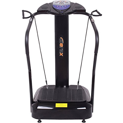 Merax Crazy Fit Vibration Platform Fitness Machine 2000W (Black)