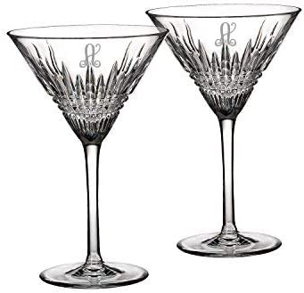 Waterford Lismore Diamond Martini Glasses