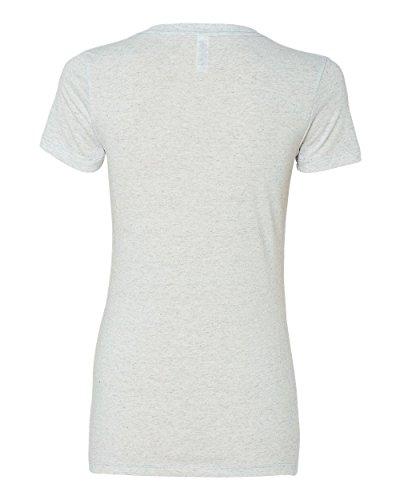 Bella womens Triblend Short-Sleeve T-Shirt-WHITE FLECK TRB-M