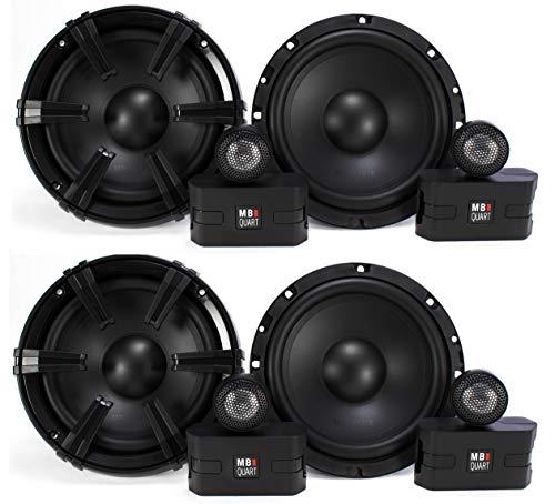 4 MB Quart 6.5' 90 Watt Component Speakers Speaker System Set Four| DC1-216