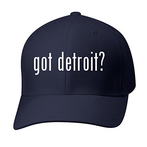 Bh Cool Designs Got Detroit    Baseball Hat Cap Adult  Dark Navy  Small Medium