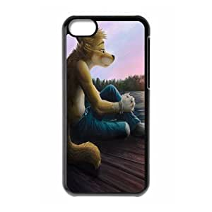 IPhone 5C Cases Fox People, Protective Case for Iphone 5 - [Black] Okaycosama