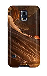 Tpu Aline Malka Shockproof Scratcheproof Autumn Fairy Hard Case Cover For Galaxy S5