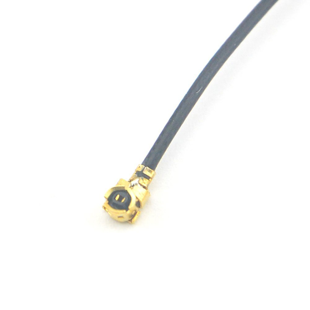 2X U.FL Mini PCI a RP-SMA treccia dellantenna WiFi via cavo