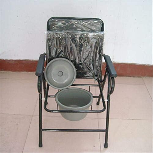 介護用ポータブルトイレ椅子 ポータブルトイレ 簡易便座 防災 折畳可 軽量 介護用 仮設トイレ 背もたれ アームレスト付き アームレスト付き 福祉センター 多機能椅子 高齢者