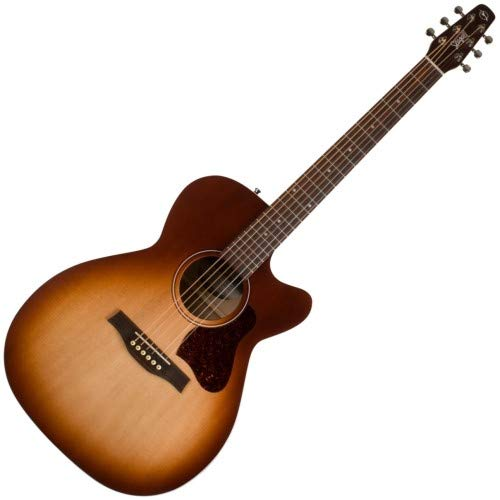 Seagull Entourage Autumn Burst CH CW Concert Hall Body Cutaway Acoustic-Electric Guitar with Gig Bag -