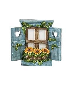 Ganz decoración para el hogar jardín de fantasía hadas colección Windows