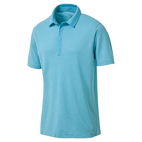 (Puma Golf Men's 2018 Moving Day Polo, Large, Blue)