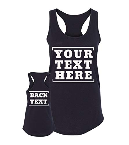 Custom Razorback Tank Tops - Create Your Own Personalized T Shirts - Tanks for Girls