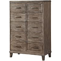 ACME Furniture 23896 Bayonne Chest, Burnt Oak, One Size