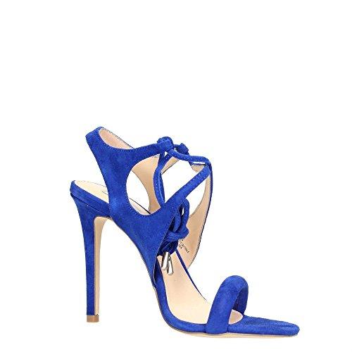 Madden Suede SALSAAA Blue Sandalia Mujer Steve d4pYxd