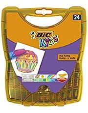 BIC Kids olieverfkrijt olie pastels Pennendoos à 24 stuks