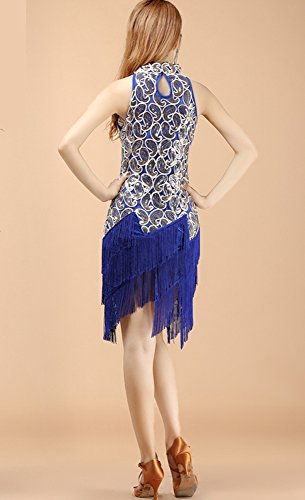 Blue Cocktail Sans Femme WhitewedRobe gold Royal Manche Bleu EDIH29