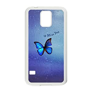 Samsung Galaxy S5 Cell Phone Case , Pure and fresh Theme Custom Phone Case