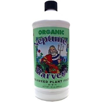 Neptune's Harvest Liquid Seaweed Plant Food 0-0-1 1qt