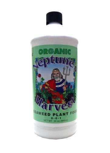 Seaweed Fertilizer (Neptune's Harvest Liquid Seaweed Plant Food 0-0-1 1qt)