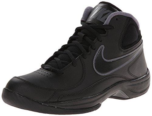 e2cc8b508dd16 Nike Mens NIKE THE OVERPLAY VII BASKETBALL SHOES 9.5 (BLACK/BLACK ...