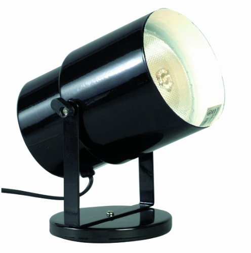 Satco Products SF77/394 Multi-Purpose Portable Spot Light, Black