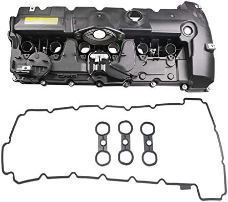 MOSTPLUS 11127552281 Engine Valve Cover For BMW E70 E82 E90 E91 Z4 X3 X5 128i 328i 528i