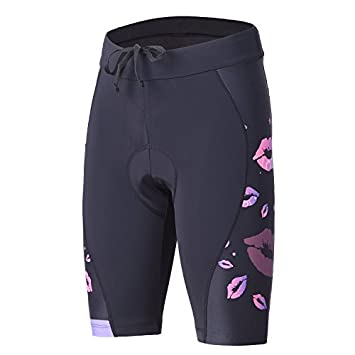 beroy Womens Bike Shorts with 3D Gel Padded,Cycling Womens Shorts