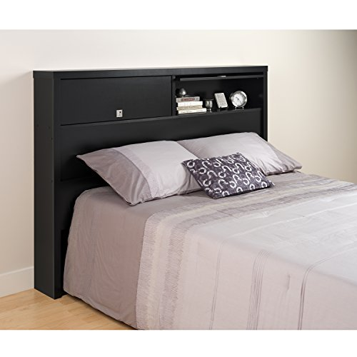 Black Series 9 Designer Full / Queen 2 Door Headboard Features