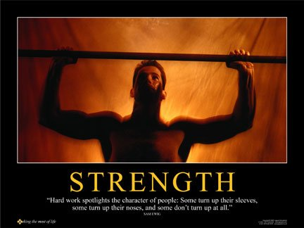 wieght lifting poster