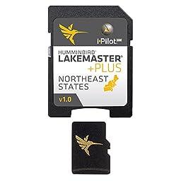Humminbird Lakemaster Plus Northeast States Micro Sd