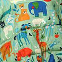 7 LB Weighted Blanket - Zoo Animals - Premium Weighted Washable Body Blanket by Grampa's Garden by Grampa's Garden (Image #2)