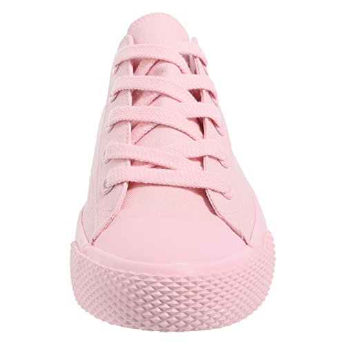 Airwalk Frauen Legacee Sneaker Mono Light Rosa Leinwand