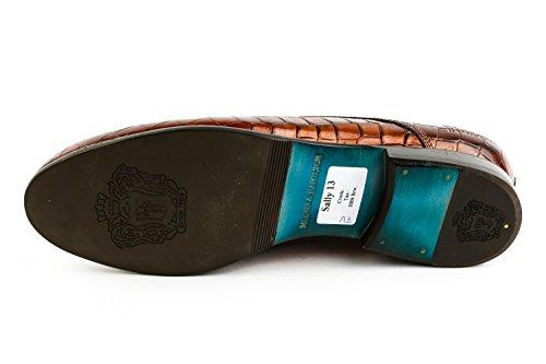 Piel Cordones De Mh15 1117 Mujer Zapatos amp; Hamilton Marrón Para Lisa Melvin xwYH610q