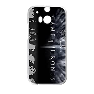 Happy Game Of Hrones Fashion Comstom Plastic case cover For HTC One M8