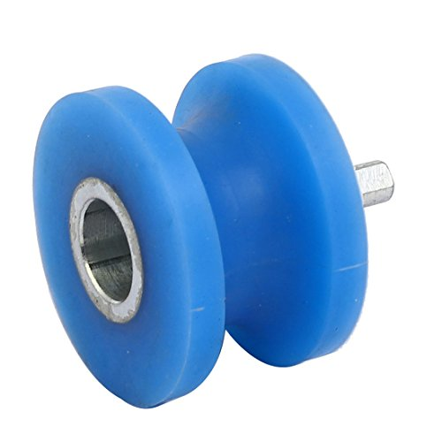 uxcell 60mm x 45mm Silicone U Groove Pinch Roller Bearing Pulley Rolling Wheel by uxcell