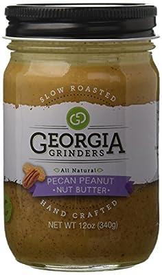 Georgia Grinders Premium Nut Butter Georgia Grinders Pecan Peanut Butter