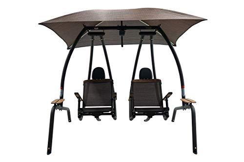 - Sunset Swings 422sb Dual Reclining Lounge Swing
