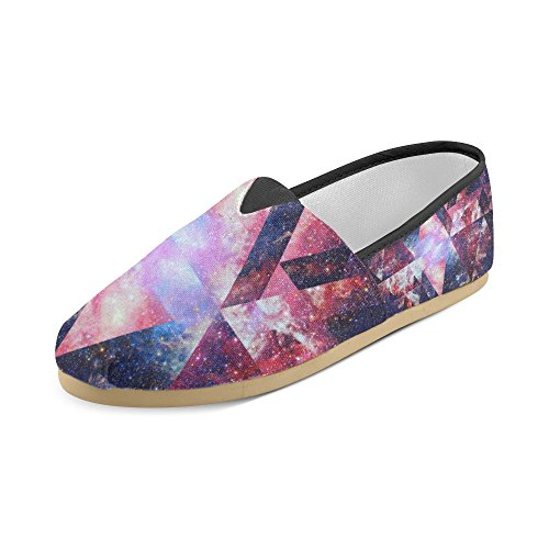 Women Shoes InterestPrint Galaxy5 Floral Pattern for Men Loafers Casual IwA0qgw