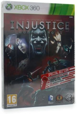 Injustice: Gods Among Us Special Tin Edition XBOX 360 Game (Steel ...
