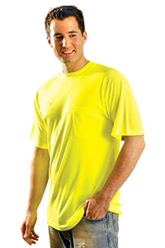 Occunomix Lux-SSTP0 Non ANSI Wicking Safety - Gear T-shirt Yellow
