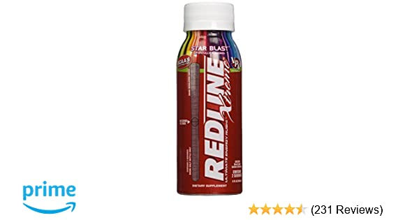VPX Redline Xtreme Energy Ready to Drink, Star Blast, 24 Count
